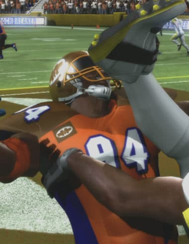 Backbreaker_Player Kicked In The Face