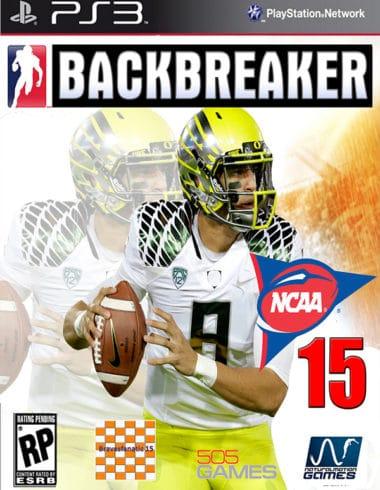 Bacbreaker NCAA 15 Cover Art PS3_2