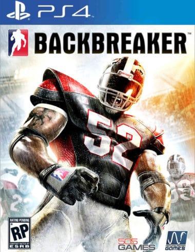 Backbreaker PS4 Cover