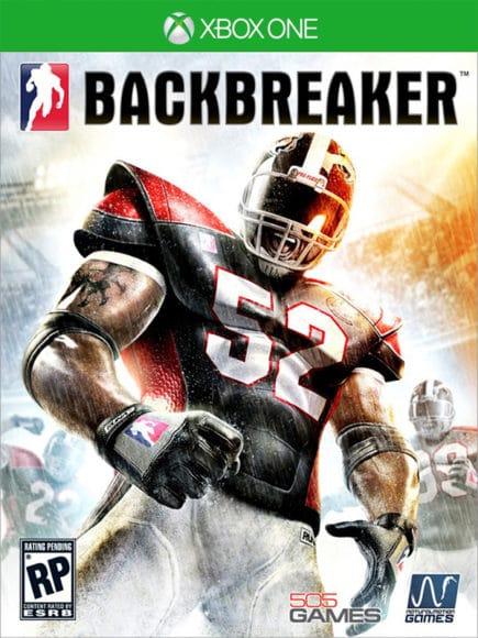 Backbreaker Xbox One Cover