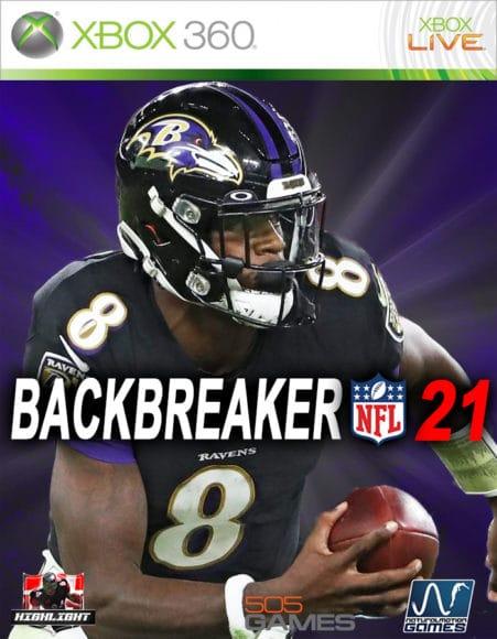 Backbreaker NFL 21 Cover Art_Xbox 360