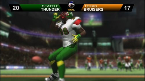 Late Punt Return Lifts The Thunder Over The Bruisers_Backbreaker Football League