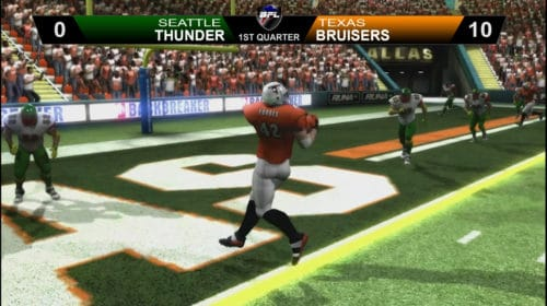 Tony Forbes Scores 2 Touchdowns In First BFL Scrimmage_Backbreaker Football League
