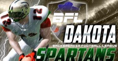 Dakota Spartans_Backbreaker Football League Wallpaper