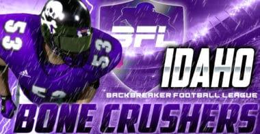 Idaho Bone Crushers_Backbreaker Football League Wallpaper