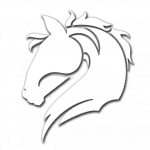 LA Stallions White Logo_Backbreaker Football League