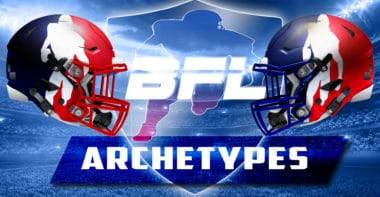 Backbreaker Football League Archetypes