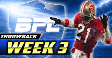 Backbreaker_BFL Throwback (2011) Week 3 Highlights