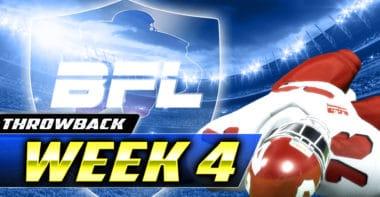 Backbreaker_BFL Throwback (2011) Week 4 Highlights