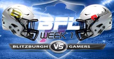 Backbreaker_Blitzburgh vs Gamers_Week 1