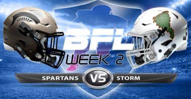 Backbreaker_Dakota Spartans vs Kansas Storm_Week 2