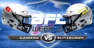 Backbreaker_Gamers vs Blitzburgh_Week 2