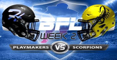 Backbreaker_Hawaii Playmakers vs New Mexico Scorpions_Week 2