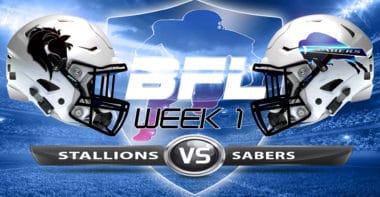 Backbreaker_LA Stallions vs San Diego Sabers_Week 1