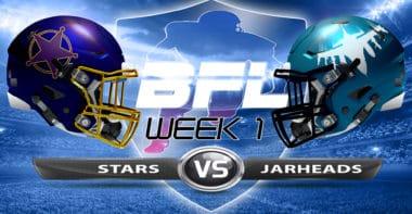 Backbreaker_LA Stars vs Washington Jarheads_Week 1