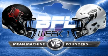 Backbreaker_Mean Machine vs Los Santos Pounders_Week 1