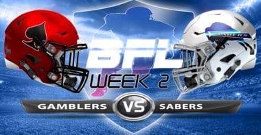 Backbreaker_Vegas Gamblers vs San Diego Sabers_Week 2