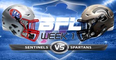 Backbreaker_Washington Sentinels vs Dakota Spartans_Week 1