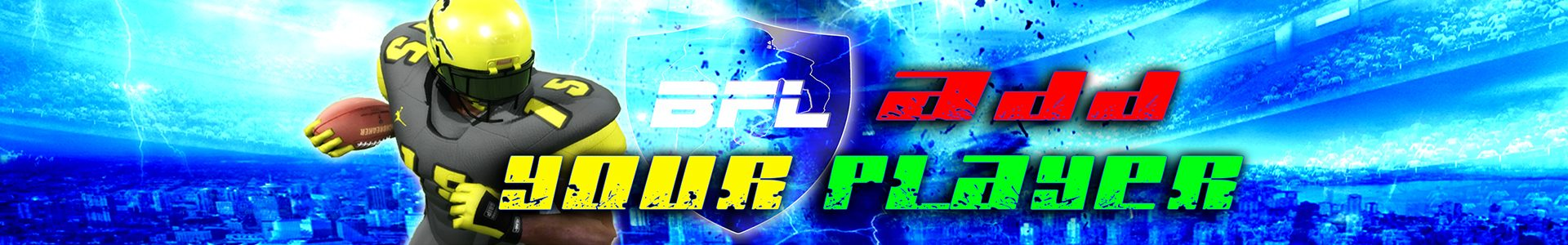 Backbreaker Football League Homepage Banner