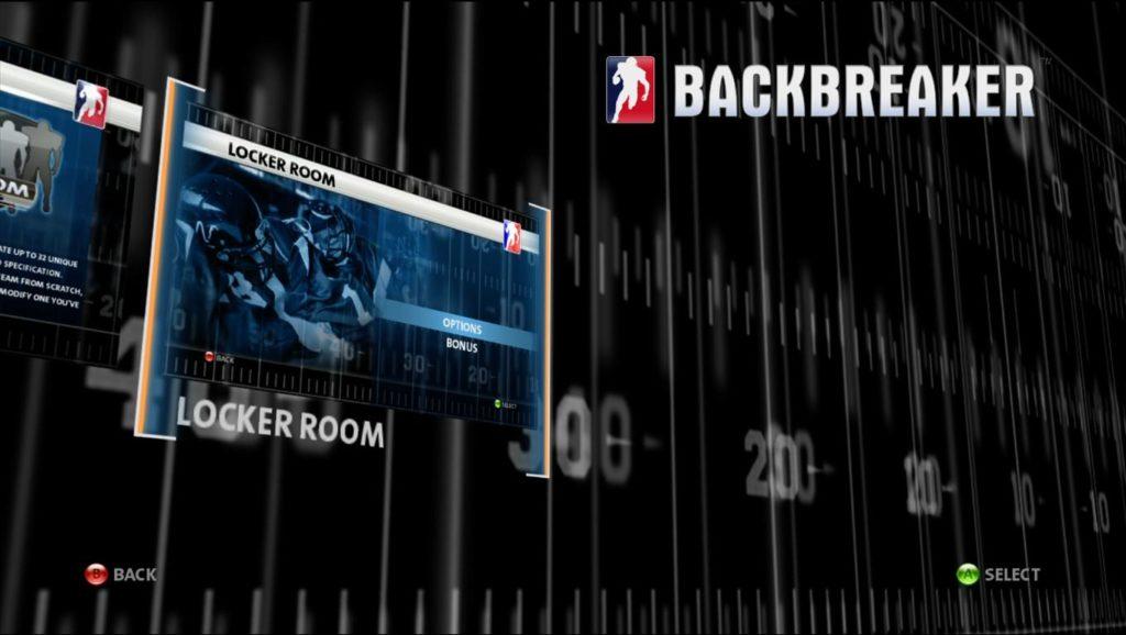Backbreaker 》How To Unlock 505 Games Football Team